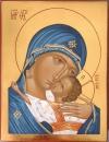 Madre di Dio della Tenerezza (cm 18x21, 2010)