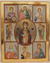 Madre di Dio con santi della famiglia (2017)