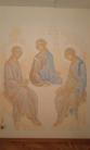Trinità-pittura-murale-cappella-privata-Monastero-Janua-Coeli-di-Cerreto-di-Sorano