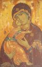Madre di Dio di Vladimir (acrilico su tela, 80x50 CM, 2014)