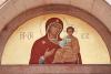 """Odigitria """" lunetta d'entrata"""" Chiesa Cittadella (PD)"""