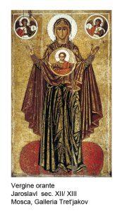 07 Vergine orante